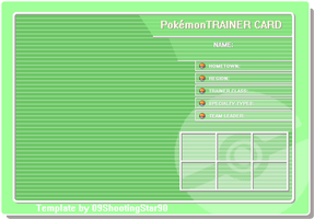 .:Trainer Card Template:. by ShootingStar03