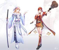 Goddess of War + Tigress of Kai