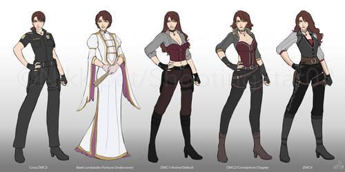 DMC: Helena's Outfits by ShootingStar03