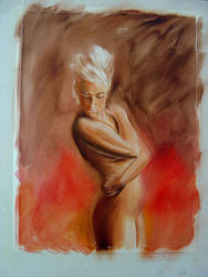 Underpainting by Bisat