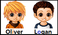 Oliver and Logan. by HappyHunterGames