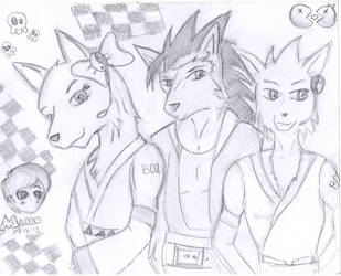 UTAUs all grown up by Dragonx347