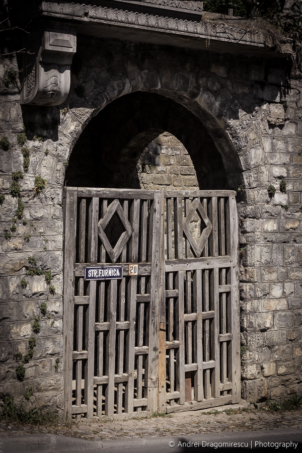 Old Gate by DrAndrei