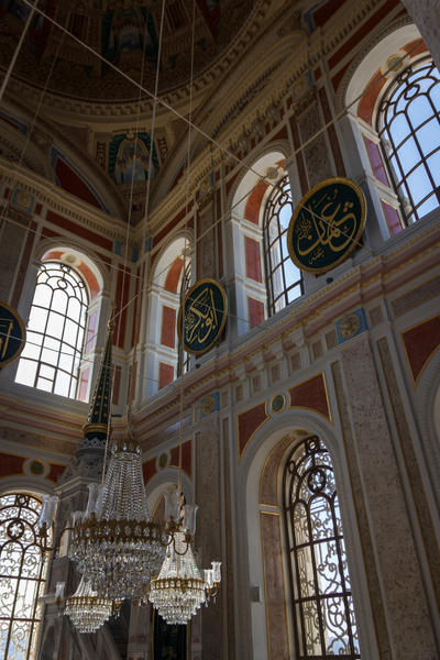 Inside Ortakoy Mosque by DrAndrei