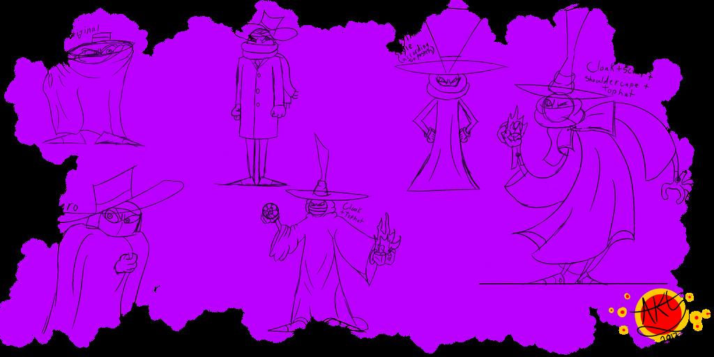 Mr Dark sketch dump by Allknownthings