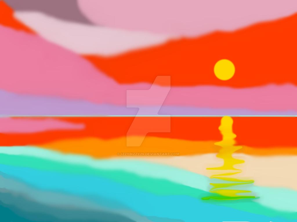 Sunset by Izzybizzy29