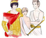 Axis Powers Hetalia - the ancient Greek gods