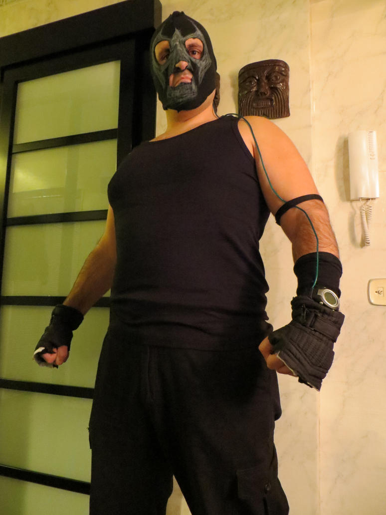 Me as Bane by Canalus