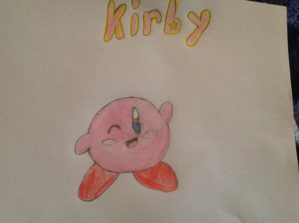 how to draw kirby star allies