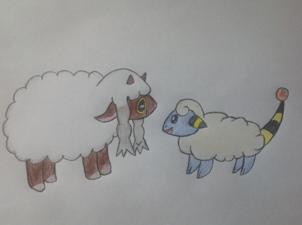 Fluffy Sheep Pokemon Sword And Shield By Shannontheart On Deviantart