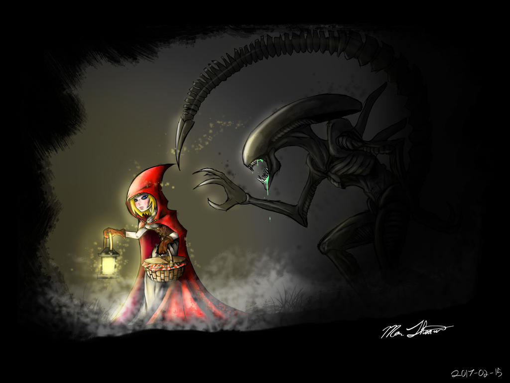 Little Red Riding Hood and the Big Bad Xenomorph by ...