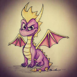 Spyro The Dragon by TrenchHead