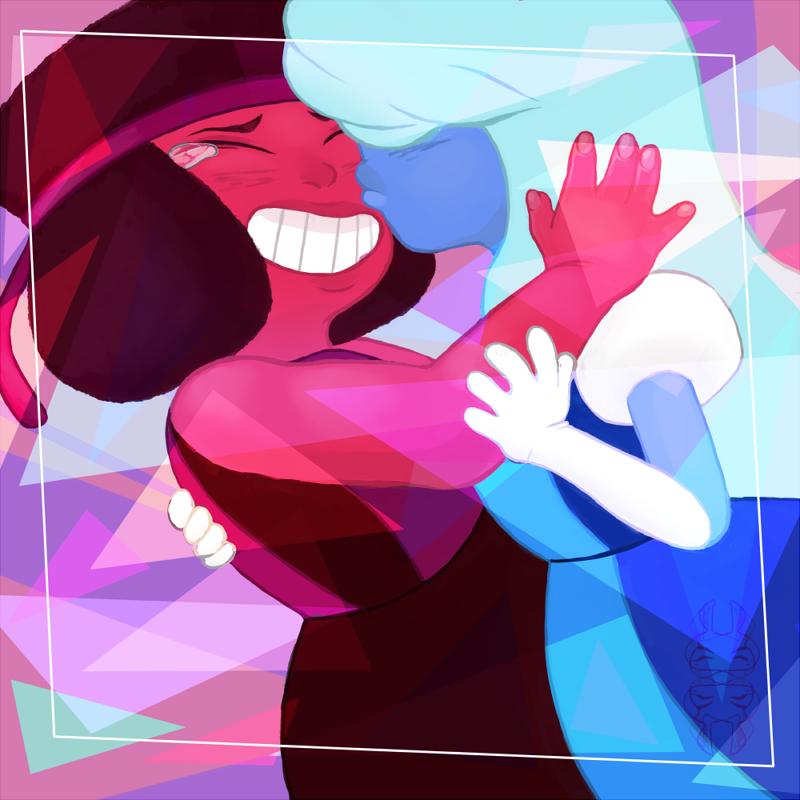 Ruby x sapphire by wendikano on deviantart - Ruby and sapphire su ...