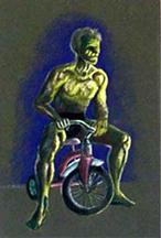 Bike Man by ZandrozRED