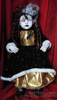NURSERY CRYMES Bugberta - Gothic Horror doll by NAKT-HAG