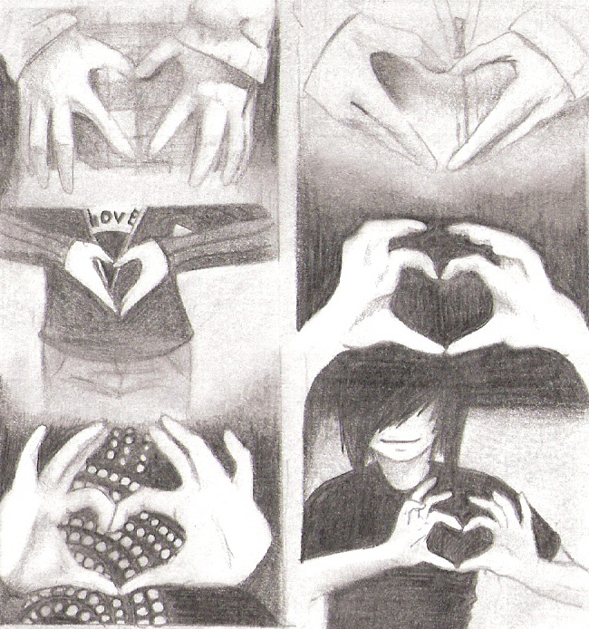 Hand Hearts by Maskerades
