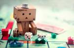 Danbo Learns Monopoly