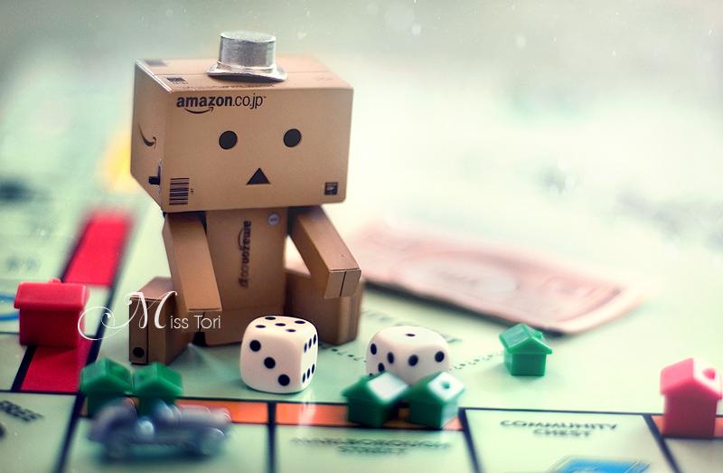 Danbo Learns Monopoly by Lady-Tori