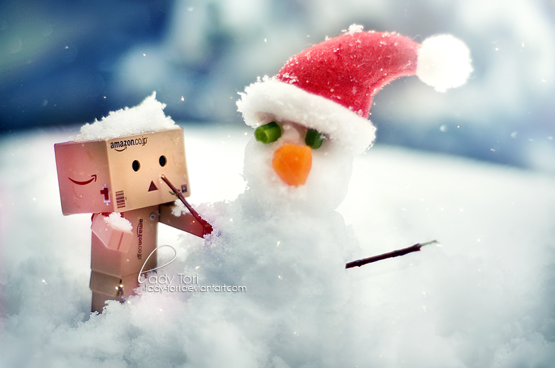 His First Snowman by Lady-Tori