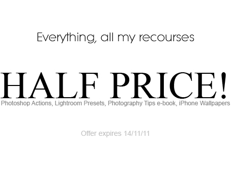 Everything HALF PRICE by Lady-Tori