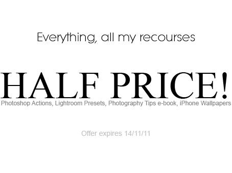 Everything HALF PRICE by Lady-Tori