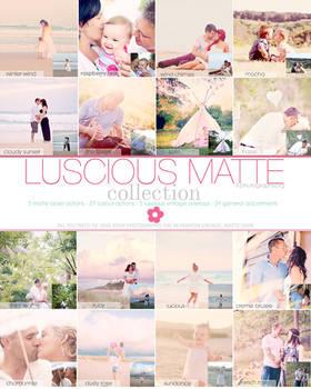 Luscious Matte Photoshop Action