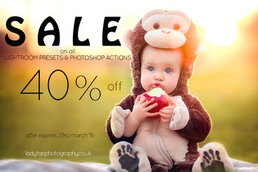 Lightoom Preset and Photoshop Action SALE