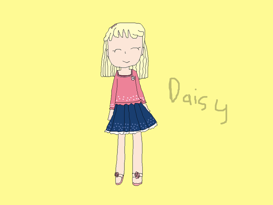 Daisy in 3rd grade_real by star5zone