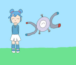 Sophie and Magnemite