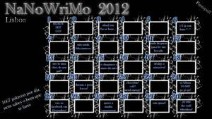 NaNoWriMo Wallpaper 2012
