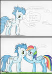 Soarin Talks to Rainbow