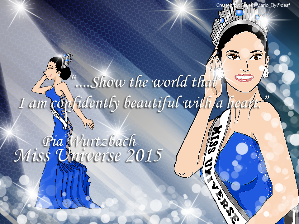 Miss Universe 2015 by simpleguyfa
