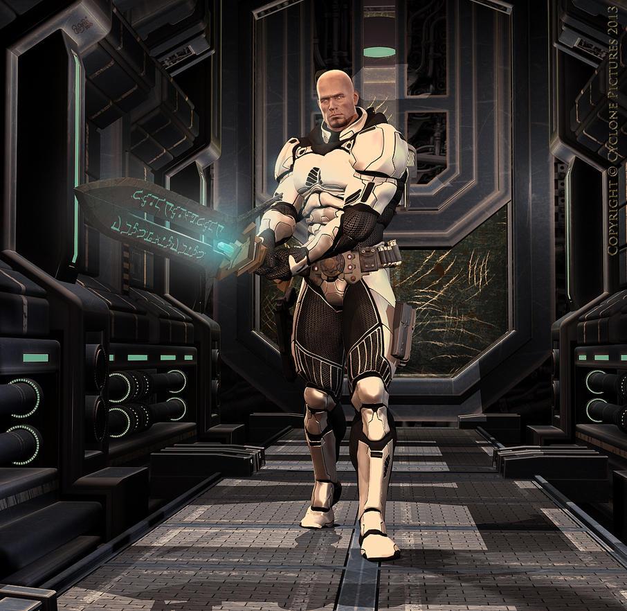 Last Man Standing - Paladin Titus Bato Fidelis by AOGRAI