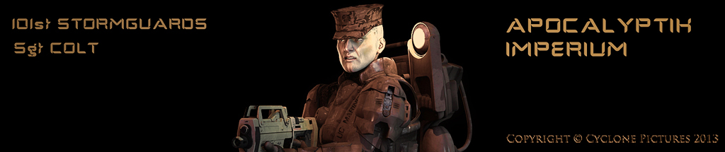 Sgt Colt BANNER1 by AOGRAI