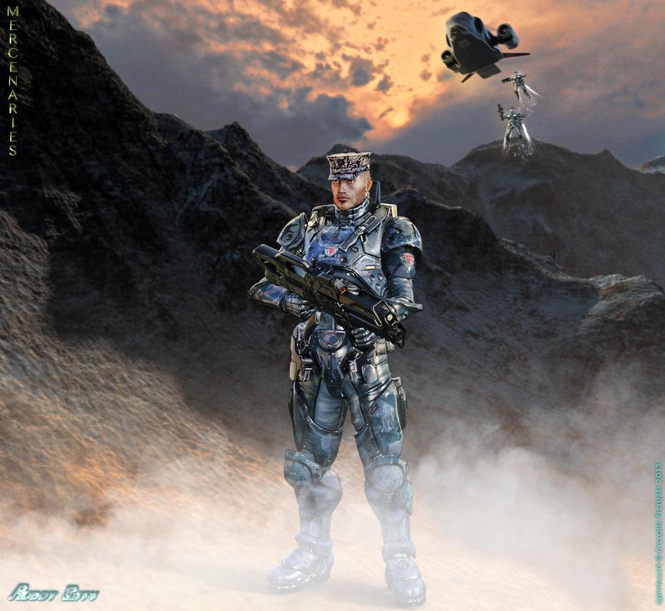 Robot City - Mercenaries by AOGRAI