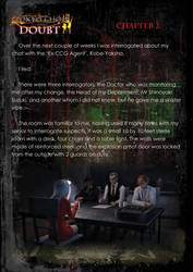 Tokyo Ghoul Inspired - Chapter 2 (Doubt) Pg1 by AOGRAI