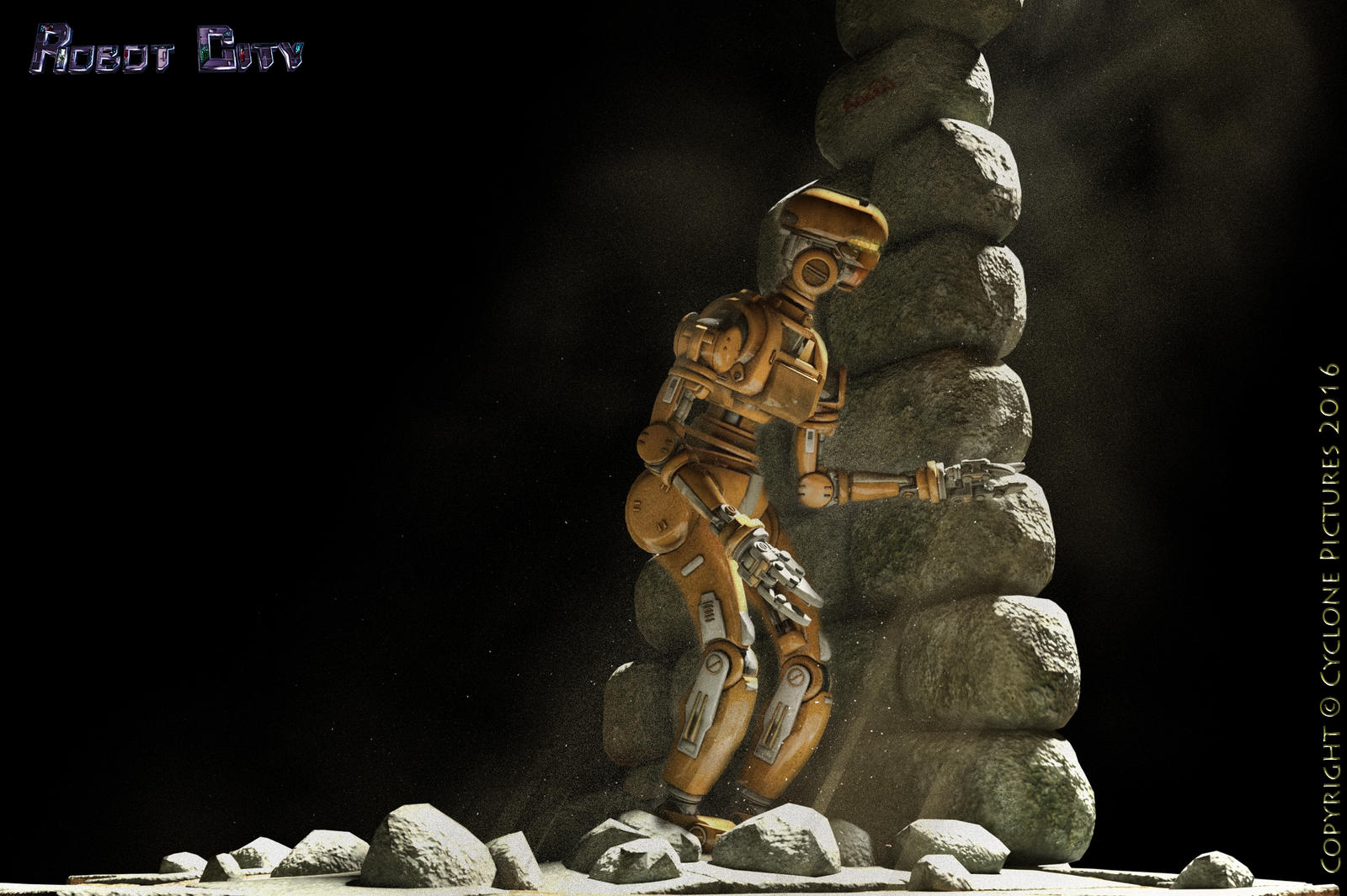 The Lost Robot by AOGRAI
