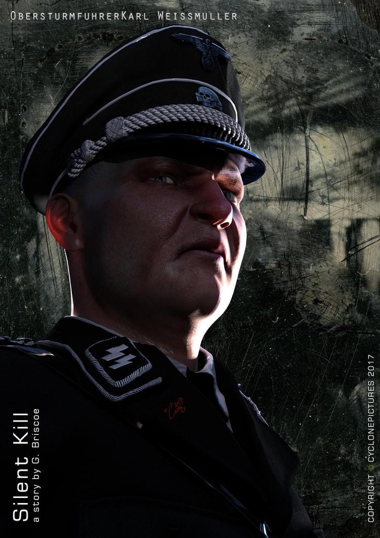 SILENT KILL: Obersturmfuhrer Karl Weissmuller by AOGRAI