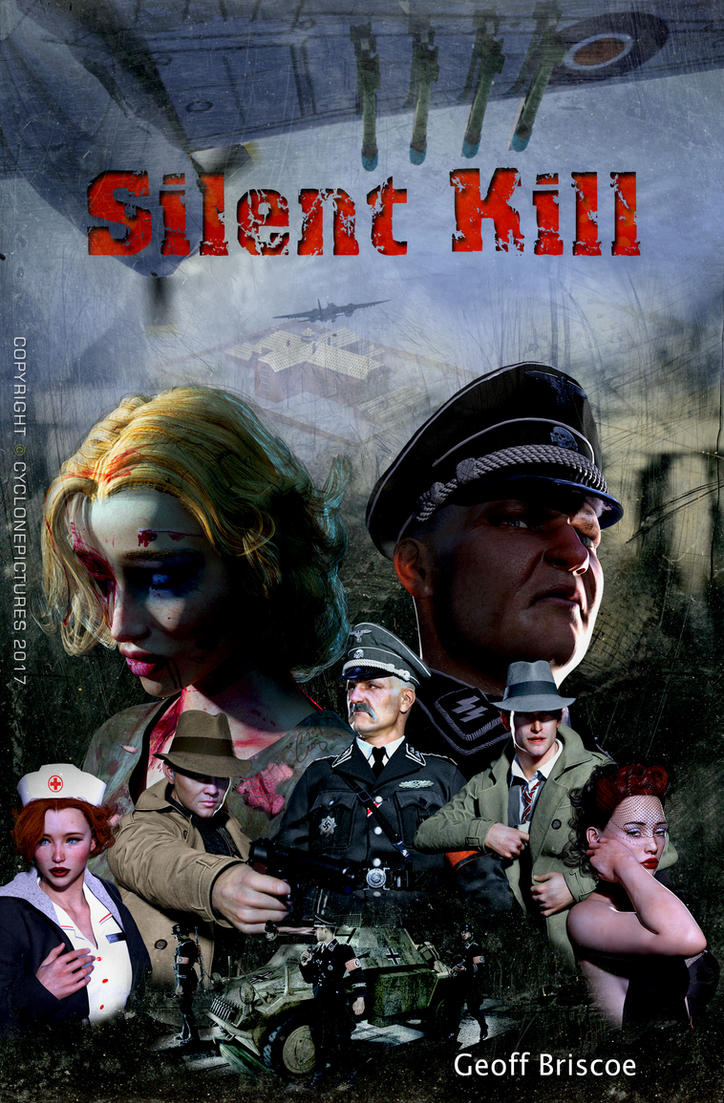 SILENT KILL - Book Cover by AOGRAI