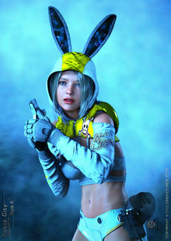 Bunny Resurrection - Robot City Character