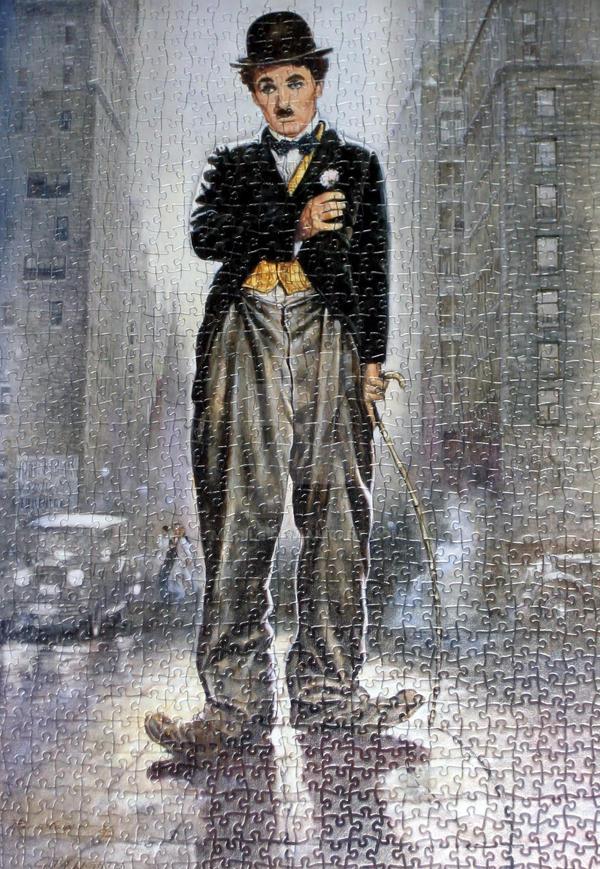 Charlie Chaplin by Macile
