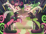 ~Squid Sisters Callie and Marie~