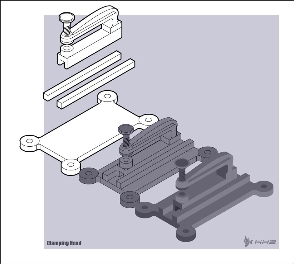 Technical: Clamping Head by kngzero