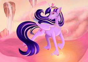 Princess Twilight +Speedpaint  by PlatinumFeather2002
