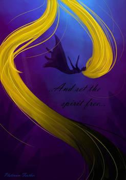 ..And set the spirit free..