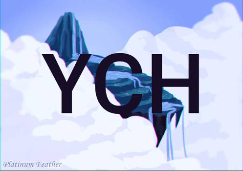 Above the clouds YCH Auction | 1usd SB |