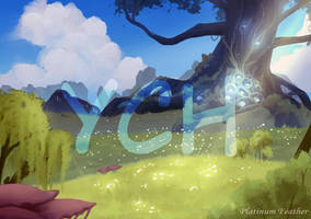 The blind forest | YCH auction