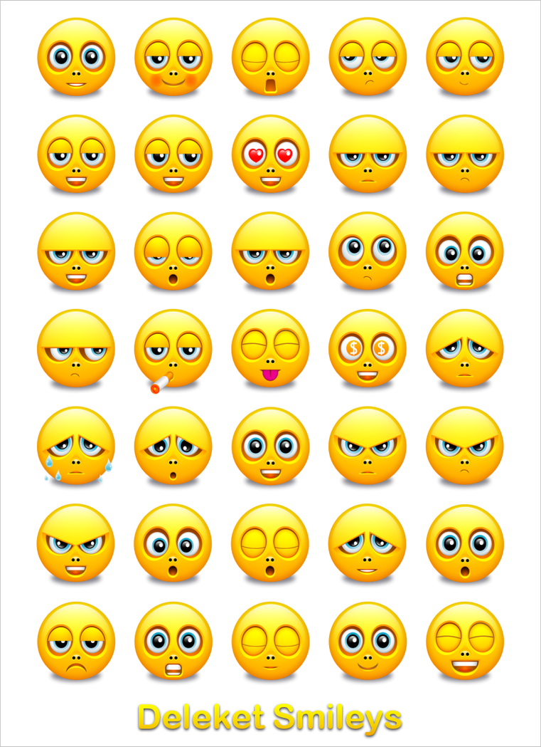 Deleket Smileys Full Preview by KenSaunders