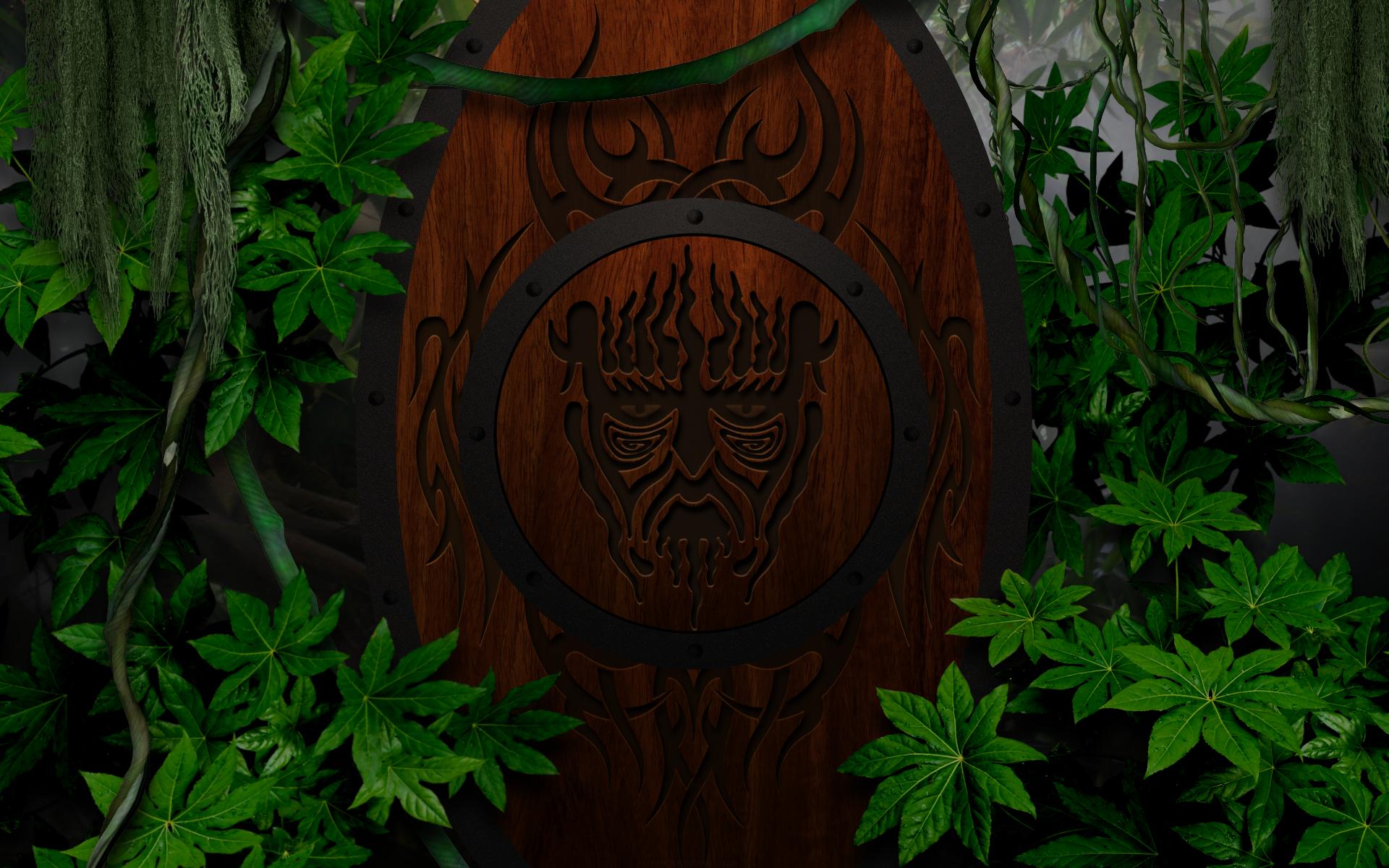 Tribal Shield by KenSaunders