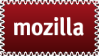 mozilla stamp by KenSaunders
